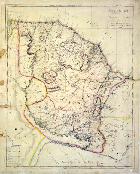 Mapa_Theberge_Ceará_1861